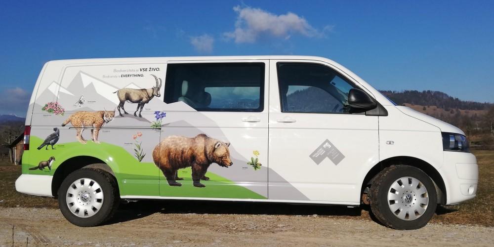 Nova biodiverzitetna podoba vozila JZ TNP