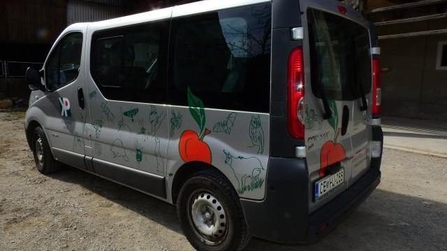Nova biodiverzitetna podoba vozila JZ Kozjanski park