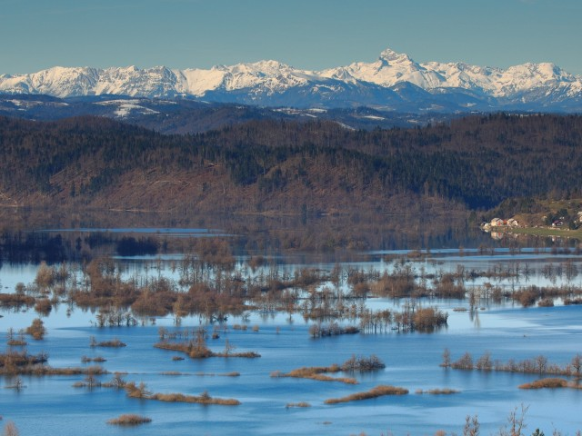 Razstava Ekosistemi Slovenije v centrih Qlandia