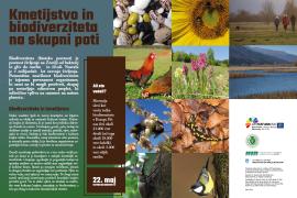 Informativne table za učno pot o biodiverziteti in kmetijstvu