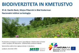 Predavanje o biodiverziteti za kmete in vrtičkarje