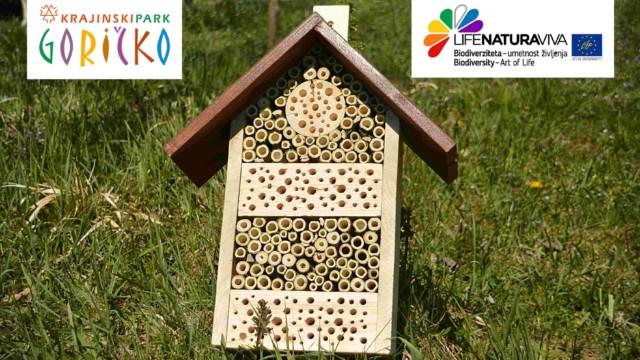 Izdelava gnezdilnice za čebele samotarke